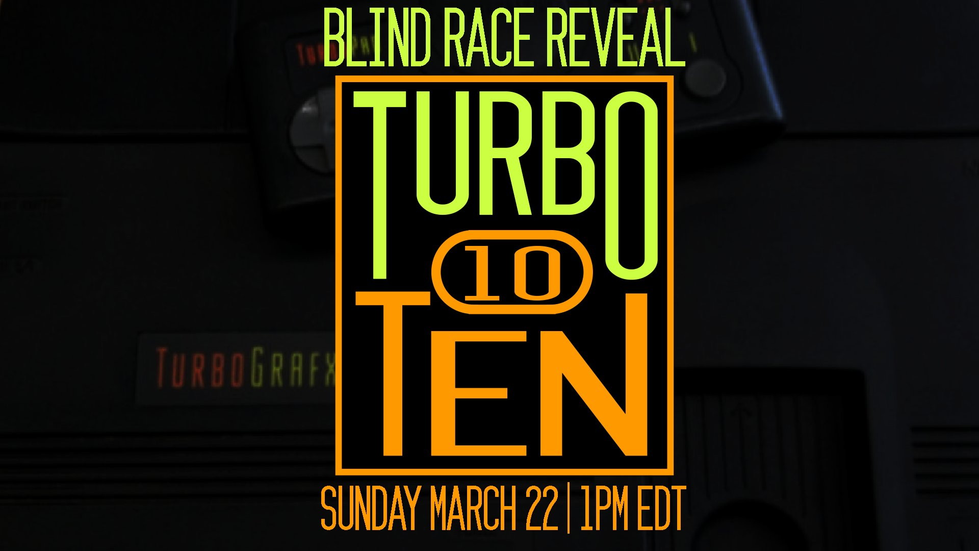 RetroGamingLiveTV's Turbo Ten Marathon Race 2020